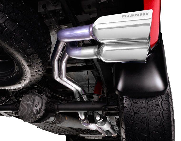 Nismo Dual Sport Cat Back Exhaust System Nissan Titan ...